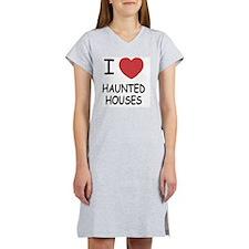 HAUNTED_HOUSES Women's Nightshirt