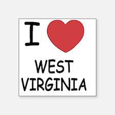 "WEST_VIRGINIA Square Sticker 3"" x 3"""