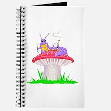 Caterpillar on Mushroom Journal