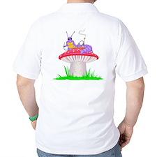 Caterpillar on Mushroom T-Shirt