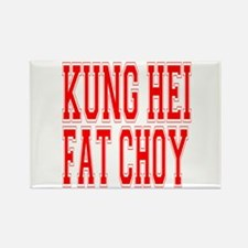 Kung Hei Fat Choy Rectangle Magnet