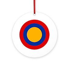 7x7-Roundel_of_Armenia Round Ornament