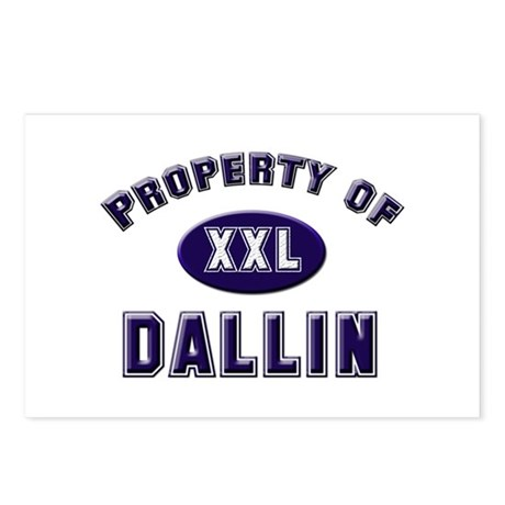Property of dallin Postcards (Package of 8)