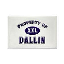 Property of dallin Rectangle Magnet