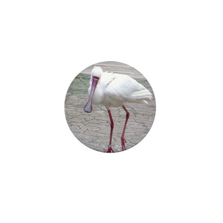 01-16-11-WAP-Spoonbill-turned head Mini Button