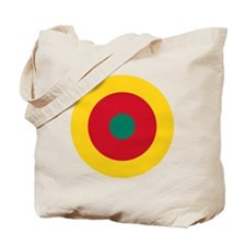 7x7-Roundel_of_the_Cameroonian_Air_Force Tote Bag