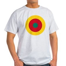 7x7-Roundel_of_the_Cameroonian_Air_F T-Shirt