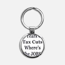 10 years jobs lt Tshirt Round Keychain