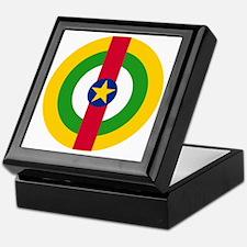 7x7-Roundel_central_african_republic Keepsake Box