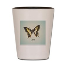 Love Circle art Shot Glass