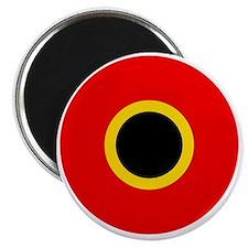 5x5-Roundel_of_Belgium_1945 Magnet