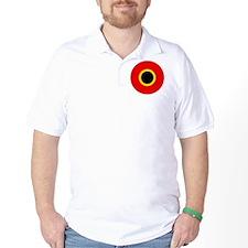 5x5-Roundel_of_Belgium_1945 T-Shirt