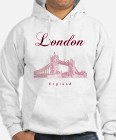 London_10x10_TowerBridge_BlackRe Hoodie