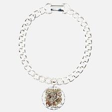 whiterabbit-flourishes-g Charm Bracelet, One Charm