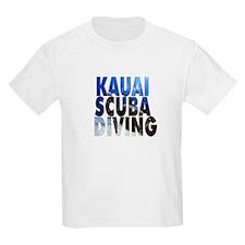 Kauai Scuba Diving Kids T-Shirt