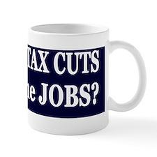 10 years  Jobs dk bl-w bumper sticker Mug