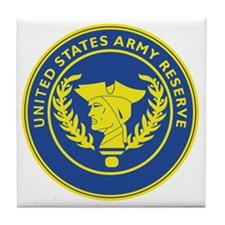 Army Reserve Seal Tile Coaster