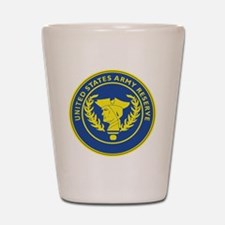 Army Reserve Seal Shot Glass