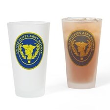 Army Reserve Seal Drinking Glass