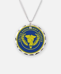 Army Reserve Seal Necklace