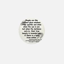 Kubler-Ross Light Quote Mini Button