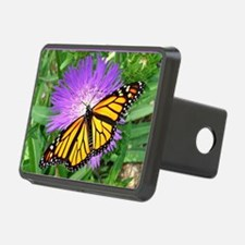 Monarch Buttefly Purple Pi Hitch Cover