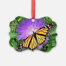 Monarch Buttefly Purple Pixie Flo Ornament