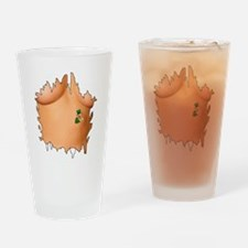 show your tattoo Drinking Glass
