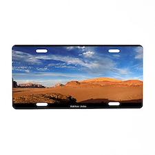 Wadi Rum - Jordan Aluminum License Plate