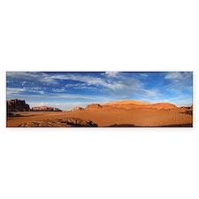 Wadi Rum - Jordan Bumper Sticker