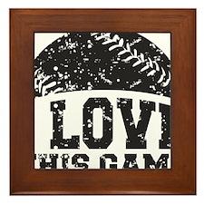 love_this_game Framed Tile