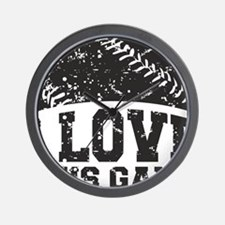 love_this_game Wall Clock