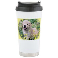 Golden Retriever Laptop Skin, C Travel Mug