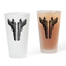 1911_blk Drinking Glass