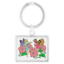Flower Fairy Landscape Keychain