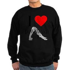 I heart downward dog Sweatshirt