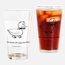 big ducky Drinking Glass