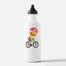cyclistchickdkT Sports Water Bottle