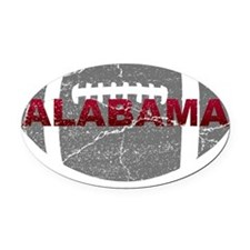 alabama-football Oval Car Magnet