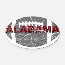 alabama-football Oval Car Magnet