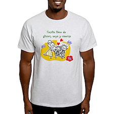 Familia libre de gluten, soya y case T-Shirt