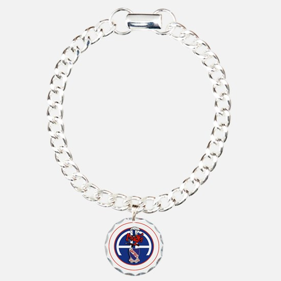 Fury 2nd 508th v1 - WHIT Charm Bracelet, One Charm
