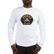 Detroit Police Long Sleeve T-Shirt