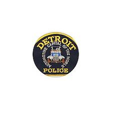 Detroit Police Mini Button (10 pack)