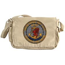 davis patch Messenger Bag