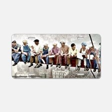 lunchtop14x6_print Aluminum License Plate