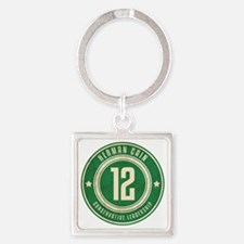 july11_herman_logo Square Keychain