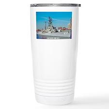 davis sticker Travel Mug
