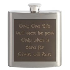 Only One Life Flask