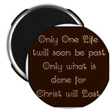 Only One Life Magnet